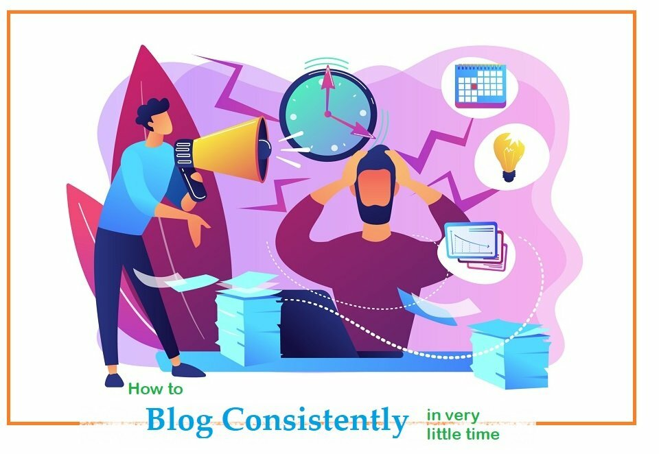 Blog writing in quick time