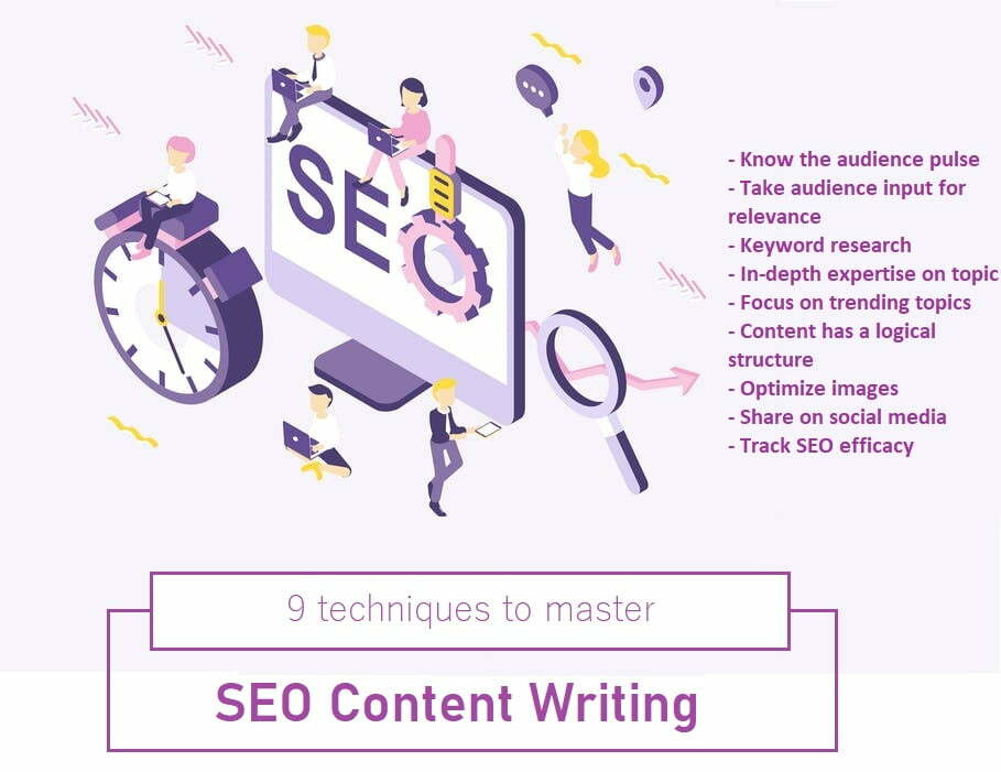 9 Techniques to master SEO content writing