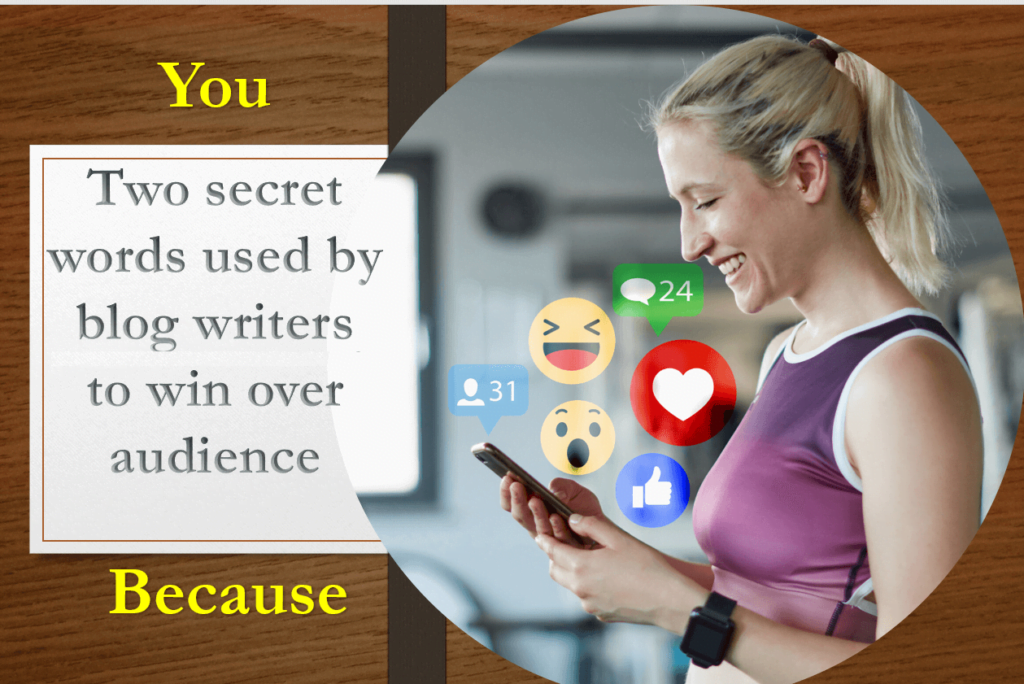two secret words used by blog writing companies