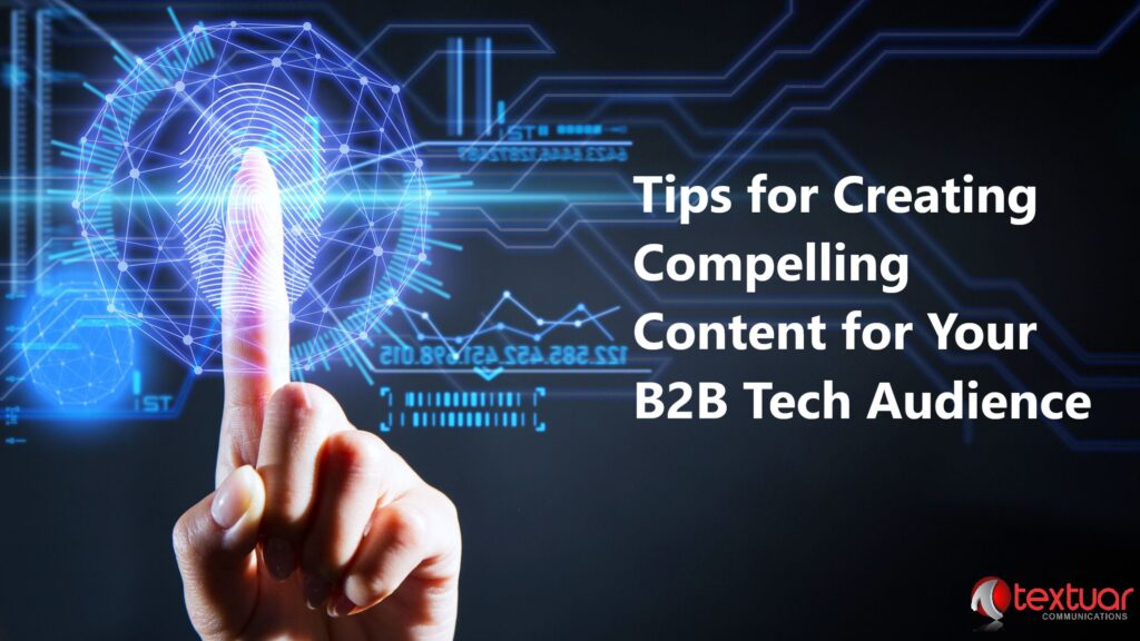 B2B content writing for technology