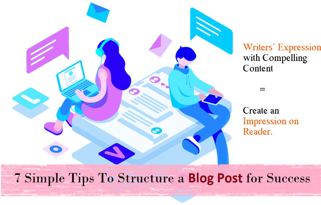 7 tips to structure a blog post