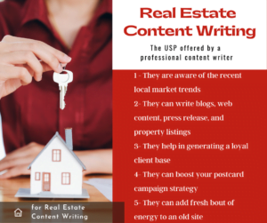 why real estate content writing