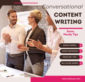 conversational content writing